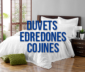 Duvets Edredones y Cojines